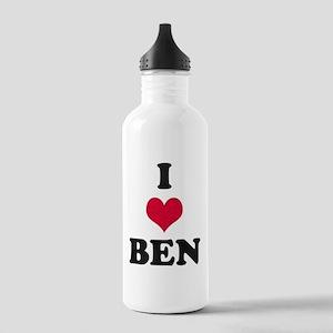 I Love Ben Stainless Water Bottle 1.0L