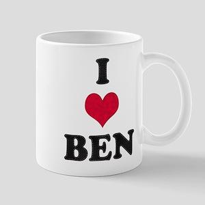 I Love Ben Mug