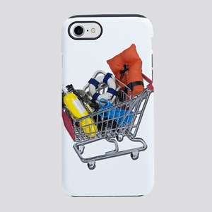Shopping Cart full of Water Sp iPhone 7 Tough Case