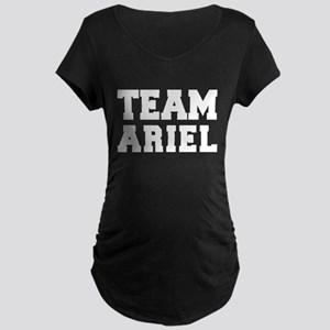 TEAM ARIEL Maternity Dark T-Shirt