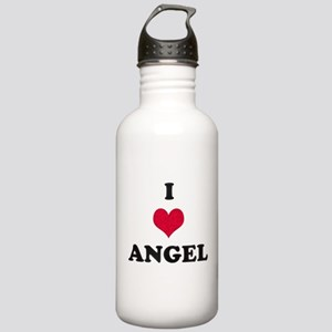 I Love Angel Stainless Water Bottle 1.0L