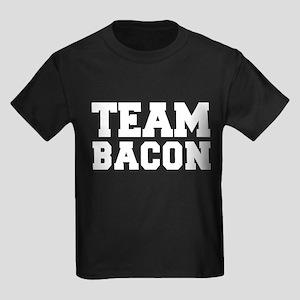 TEAM BACON Kids Dark T-Shirt