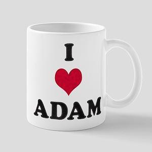 I Love Adam Mug