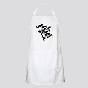 Stop Violence Bring Peace Apron