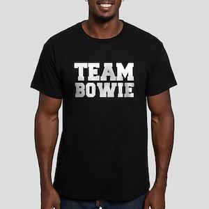 TEAM BOWIE Men's Fitted T-Shirt (dark)