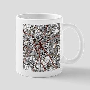 Leicester Road Map Mug