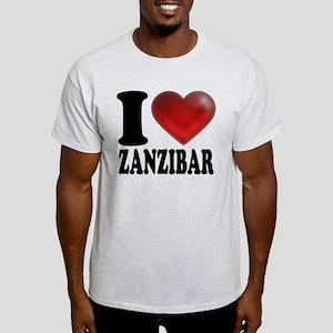 I Heart Zanzibar Light T-Shirt