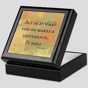 You Make a Difference Keepsake Box