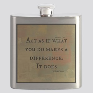 You Make a Difference Flask