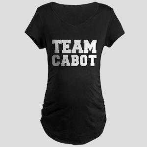 TEAM CABOT Maternity Dark T-Shirt
