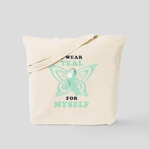 I Wear Teal for Myself.png Tote Bag
