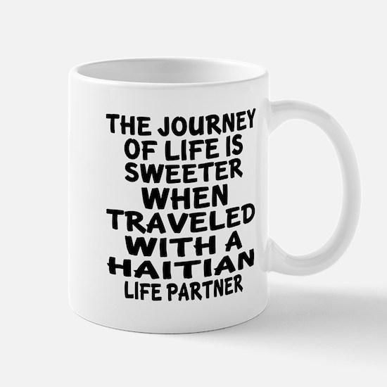Traveled With Haitian Life Partn Mug