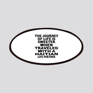 Traveled With Haitian Life Partner Patch