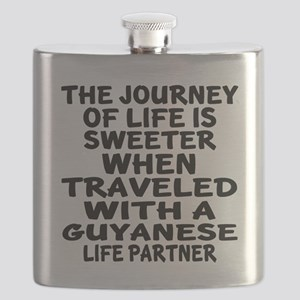 Traveled With Guyanaese Life Partner Flask