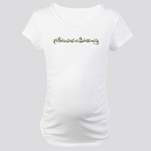 little band of chickadees Maternity T-Shirt