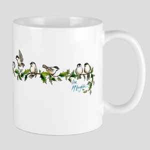 little band of chickadees Mug