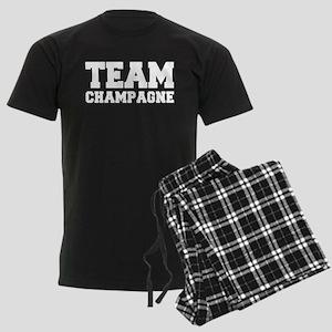 TEAM CHAMPAGNE Men's Dark Pajamas