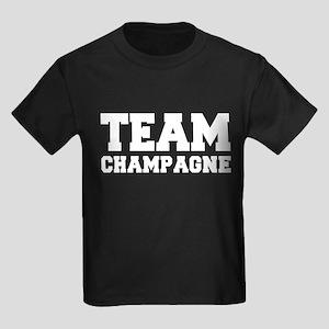 TEAM CHAMPAGNE Kids Dark T-Shirt