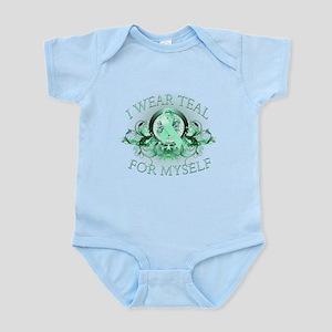 I Wear Teal for Myself Infant Bodysuit