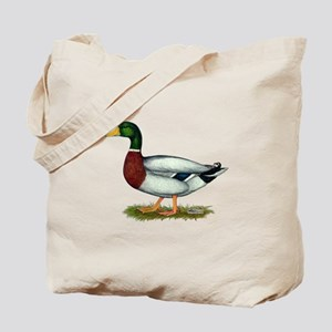 Mallard Duck Drake Tote Bag