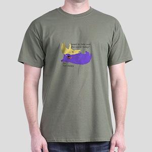 Sleepy Cat World Domination T-Shirt