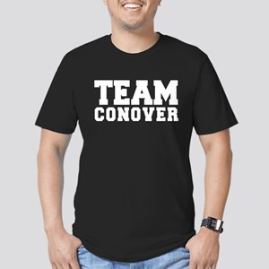 TEAM CONOVER Men's Fitted T-Shirt (dark)