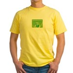 HXFFULL Yellow T-Shirt
