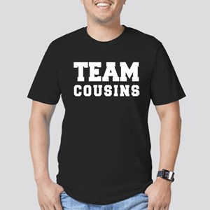 TEAM COUSINS Men's Fitted T-Shirt (dark)