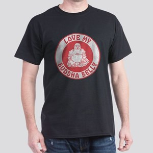 Red Love My Buddha Belly T-Shirt
