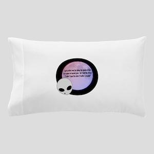 Alien Speed Joke Pillow Case