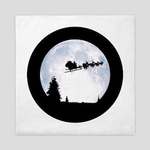 Christmas Moon Queen Duvet