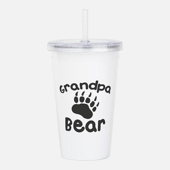 Grandpa Bear Acrylic Double-wall Tumbler