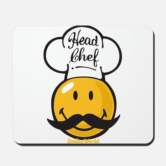 Head Chef Smiley Mousepad