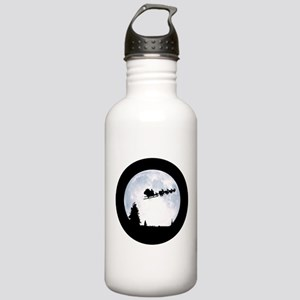 Christmas Moon Stainless Water Bottle 1.0L
