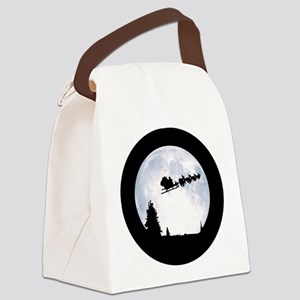 Christmas Moon Canvas Lunch Bag