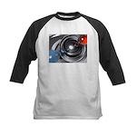 Abstract Camera Lens Kids Baseball Jersey