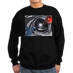 Abstract Camera Lens Sweatshirt (dark)