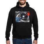 Abstract Camera Lens Hoodie (dark)
