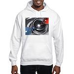 Abstract Camera Lens Hooded Sweatshirt