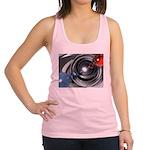 Abstract Camera Lens Racerback Tank Top