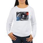 Abstract Camera Lens Women's Long Sleeve T-Shirt