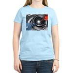 Abstract Camera Lens Women's Light T-Shirt