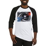 Abstract Camera Lens Baseball Jersey