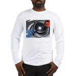 Abstract Camera Lens Long Sleeve T-Shirt