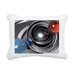 Abstract Camera Lens Rectangular Canvas Pillow