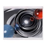 Abstract Camera Lens Throw Blanket
