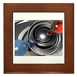 Abstract Camera Lens Framed Tile