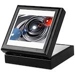 Abstract Camera Lens Keepsake Box
