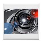 Abstract Camera Lens Tile Coaster