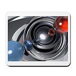 Abstract Camera Lens Mousepad